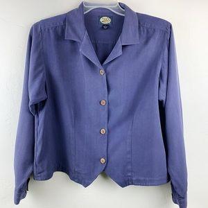 Beautiful Periwinkle Tommy Bahama blouse